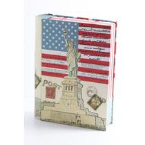 Caja Metálica Cultura Inglesa Y Americana Cm13