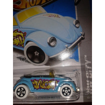 Hot Wheels Diferentes Bump Around Vw Beetle Baja Truck