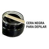 Cera Negra Española Depiladora Original Elastica Sin Bandas