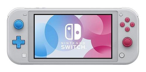 Nintendo Switch Lite 32gb Zacian And Zamazenta Edition Gris, Cian Y Magenta