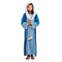 Disfraz De Virgen Maria, Navidad, Para Niñas, Envio Gratis