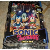 Sonic & Amy The Hedgehog Edicion Special De Coleccion