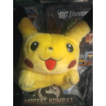Pokemón - Digimon - Cariñositos Muñeco De Peluche - Picachu