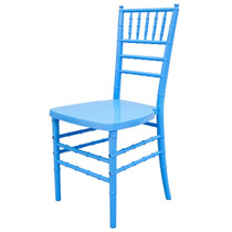Silla Chiavari Colores Solidos Polipropileno Tiffany