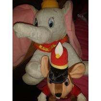 Peluches Dumbo Y Timoteo El Raton Disney Collecion