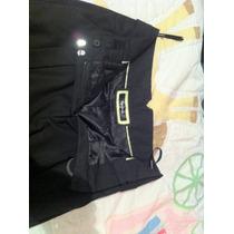 Remato Hermoso Pantalón De Vestir Negro Pepe Jeans Original