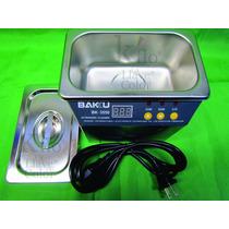 Tina Ultrasonico Baku Bk3550 Inyectores,cartuchos,celulares