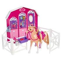 Barbie Y Sus Hermanas En Un Playset Estable Pony Tale