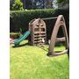 Juegos Infantiles Jardín Resbaladilla Y Columpios