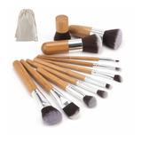 Brochas De Maquillaje Mayoreo Profesional Bambú
