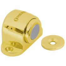 Tope Magnetico Para Puerta Acabado Laton Hermex 43781