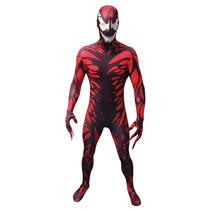 Disfraces Carnage - Adultos Xxlarge Morphsuit Marvel Comic