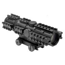 Mira 2-7x32 Rangefinder Tri Riel Marcadora Gotcha Xtreme