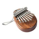 Kalimba Pequeña Portátil 8 Notas Instrumento De Percusión