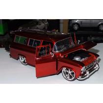1:24 Chevrolet Suburban 1957 Rojo Jada Toys Display