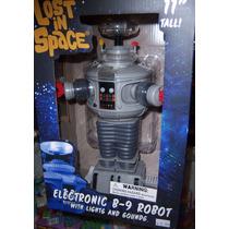 Precioso Robot B9 Habla Y Prende Luces