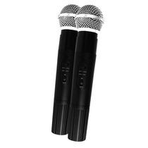 Paquete Microfonos Inalambricos Profesionales 100m Frecu.uhf