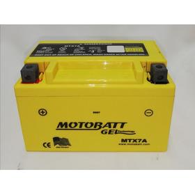 Bateria Gel Motoneta Ytx7a-bs Motobatt Ds150 Ws150 Gs150 Cs125 Dsg125 Gsc150 Gts175 Ws175 Vitalia 250z Rt200