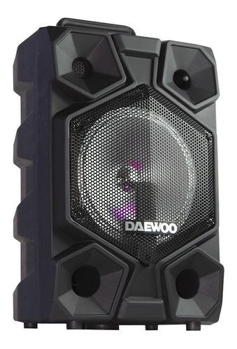 Bocina Daewoo Dw-8020 Portátil Inalámbrica Negro