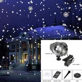 Nieve Caída Proyector Lámpara De Efecto De Nieve Foco