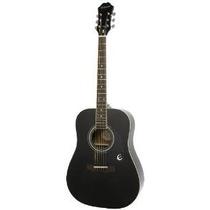 Epiphone Dr-100 De La Guitarra Acústica De Ébano