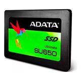 Ssd 960gb Disco Duro Estado Solido Adata Su650 Laptop Pc 2.5