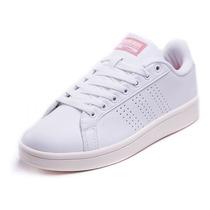 Tenis adidas Mujer Blanco Neo Cloudfoam Advantage Aw3974