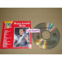 Marco Antonio Muñiz Serie 20 Exitos 1991 Rca Cd Con Detalle