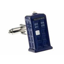 Mancuernillas Cabina De Policia Doctor Who Camisa