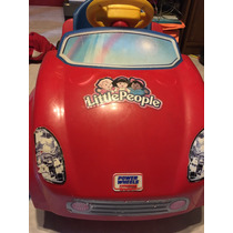 Carrito Eléctrico Opower Wheels Fishers Price, Little People