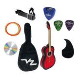 Guitarra Vz Clásica  Acústica  En Paquete  Con Afinador Envio Asegurado Y Expres Fabricada En Paracho Michoacan Mex