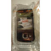 Crystal Case Nokia N85 Con Clip + Envio Gratis