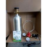 Equipo 2.5kg Co2 Cga320 Prof Rec Solenoide Acuario Plantado