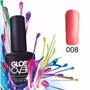 Esmalte Gel Uñas Tipo Gelish Gloss Over Color Carnelian 15ml