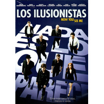 Dvd Ilusionistas ( Now You See Me ) 2013 - Louis Leterrier /