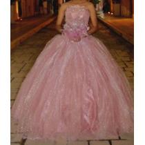 Vestido De 15 Años Color Palo De Rosa