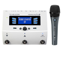 Tc Helicon Voicelive Play Gtx Guitarra + Sennheiser E835 Fx