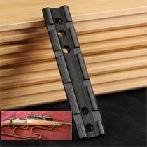 Riel 20mm Compatible Multimodelos Mira Telescopica Rifle Tac