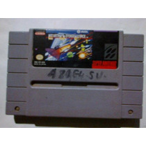 Earth Defense Force Para Supernintendo Video Juego Antiguo
