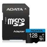 Adata Memoria Micro Sd Hx 128gb Clase 10 100% Original A1