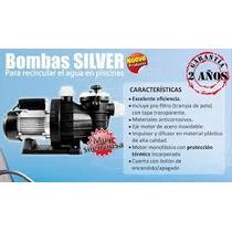 Bomba Alberca Silver 0.75 Hp 110v Succión Y Descarga 1.5