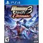 Warriors Orochi 3 Ultimate (nuevo Y Sellado) Play Station 4