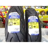 Llantas Michelin 140/70-17 66s + 110/70-17 54s Pilot Street