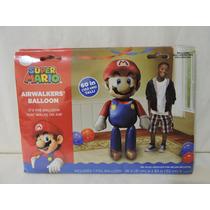 Mario Bross Fiestas Globo 1 Metálico Helio 1.52 Cm Alto