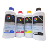 4 Tinta Litro Dye Bro Eps Hp Canon Premium Calidad Foto