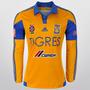 Playera Jersey Adidas Tigres Casa M/l 15/16 S/n�