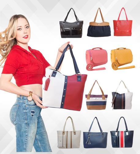 ffe3da6d9d567 Bolsas Dama Mayoreo Bolsos Lote 10 Económicas Mujer Moda