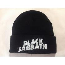 Gorrito Metalero Bordado Rock, Metal Black Sabbath