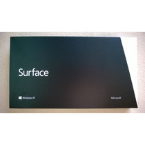 Microsoft Surface 32 Gb + Office Hogar Y Estudiantes 2013 Rt
