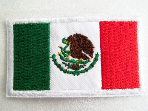 749fb1971350 Bandera México O Países Parche Adherible Con Plancha 7x5cm en venta ...